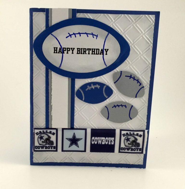 a birthday card for the dallas cowboys fandallas cowboys