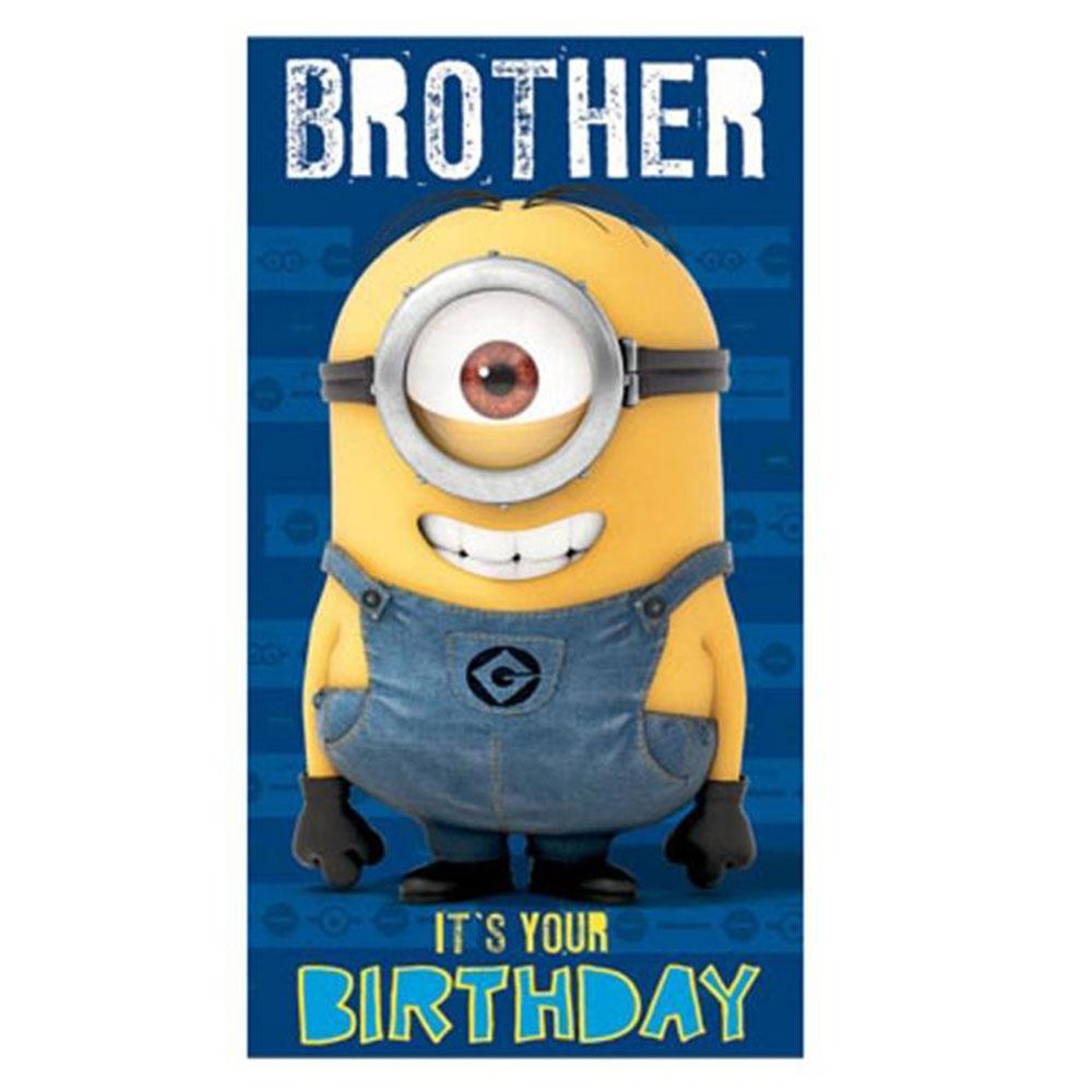 bother minion birthday card