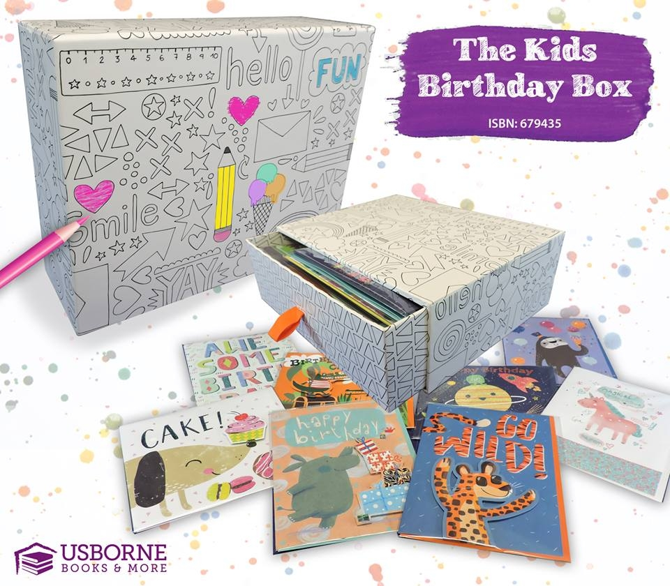 cards for critters kids birthday box