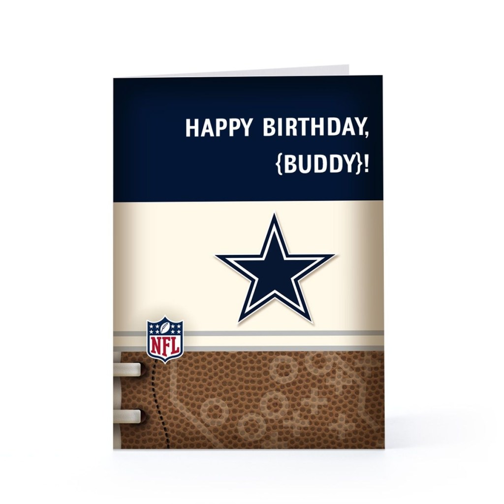 dallas cowboys birthday cards other hallmark sites