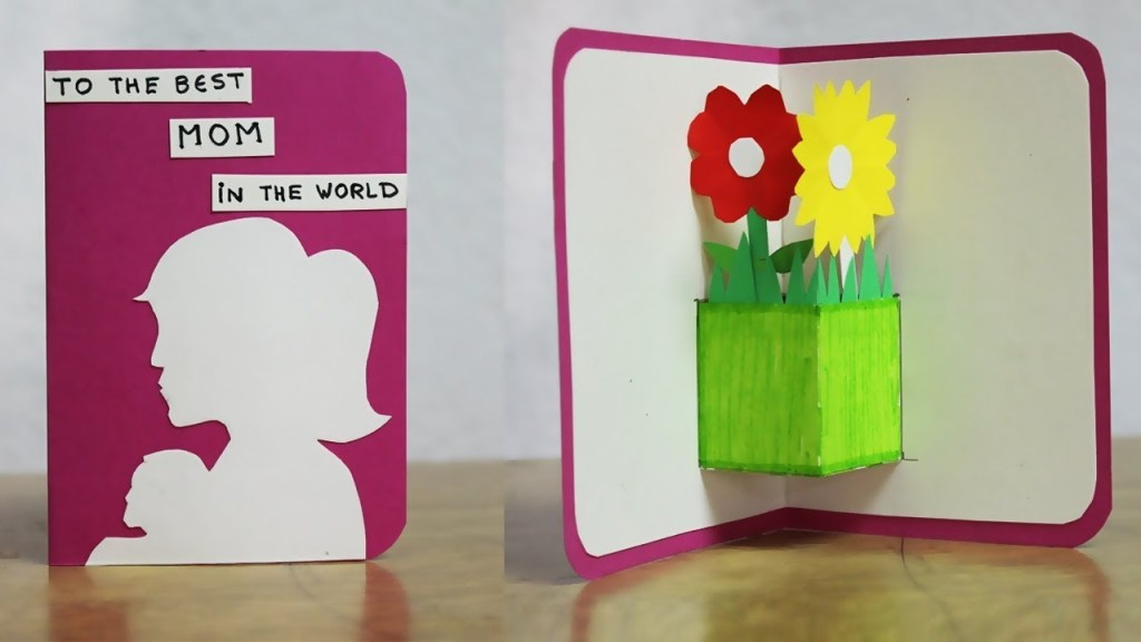 diy birthday cards for mom handmade birthday cards