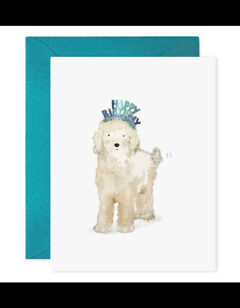 e frances paper lucy dog birthday card