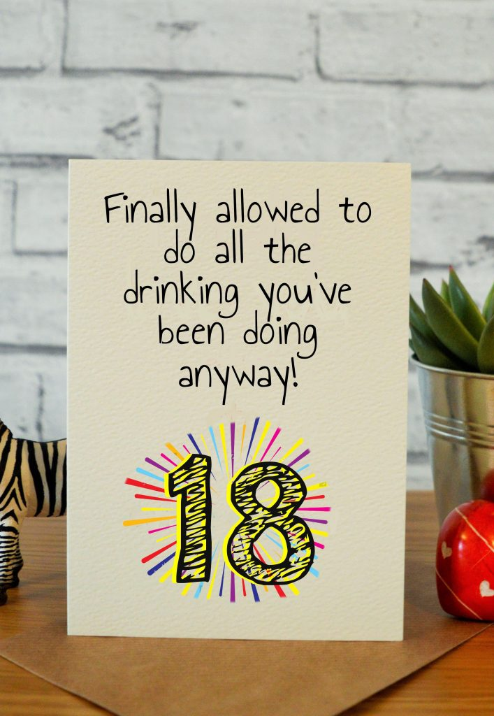 funny 18th birthday cards 18th birthday gifts 18th gift