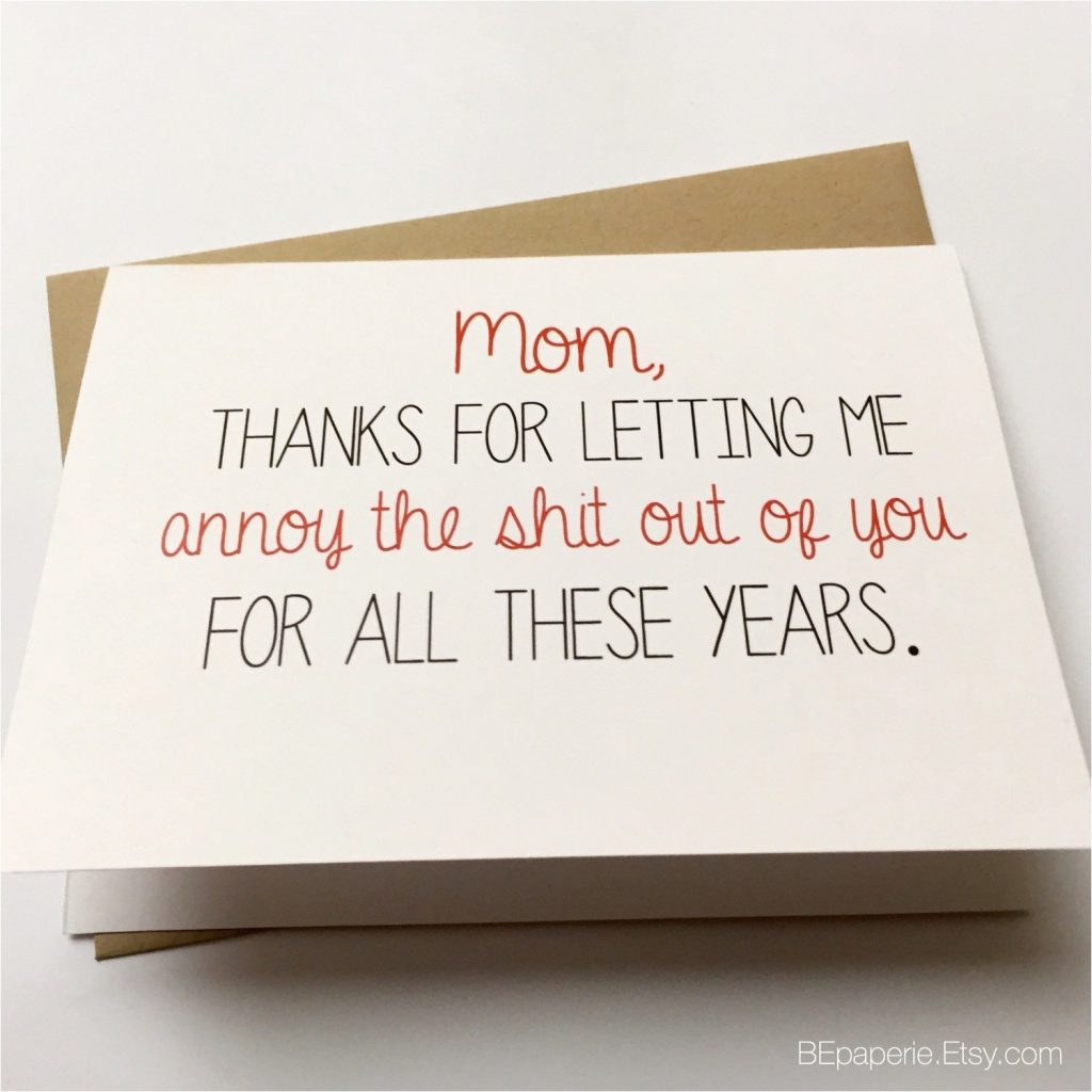 funny birthday card sayings for mom funny mom card mother 39