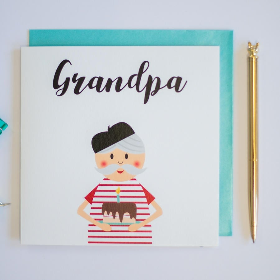 grandpa birthday greeting card birthday card