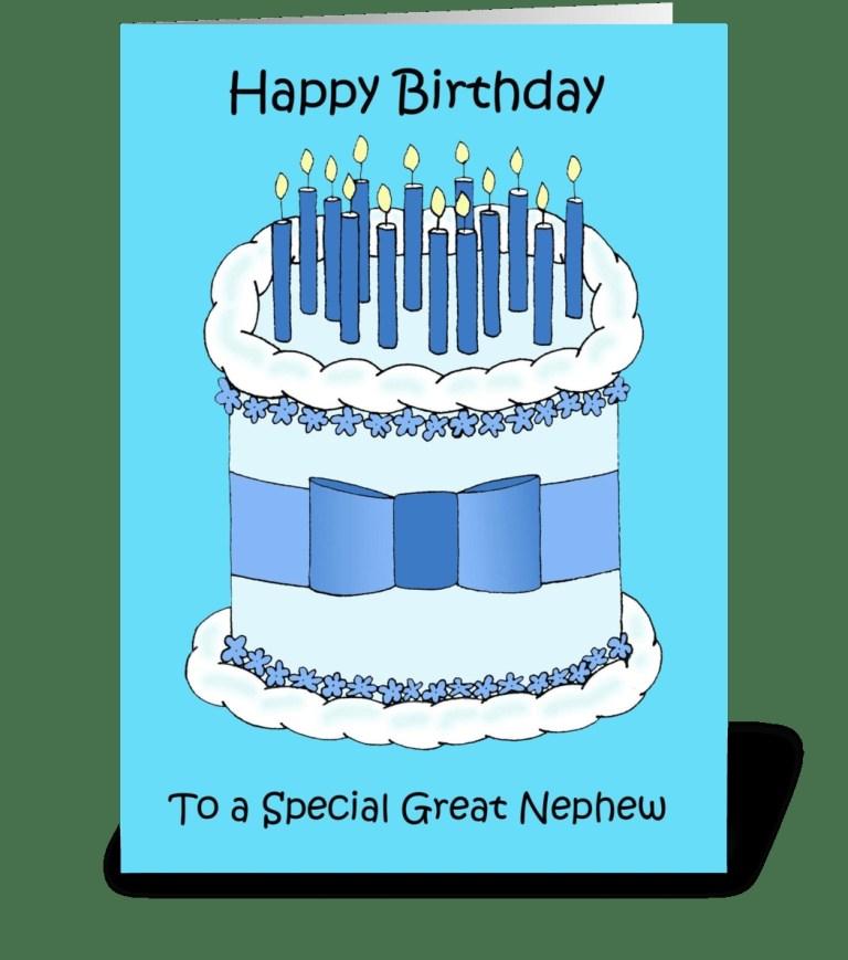 great nephew happy birthday