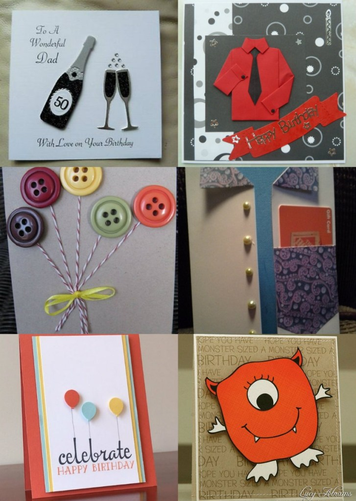 handmade birthday card ideas for father handmade birthday