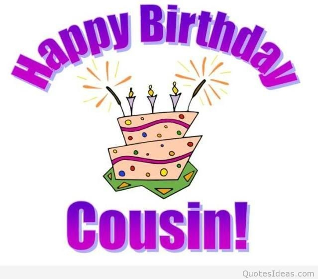 happy birthday card cousin message