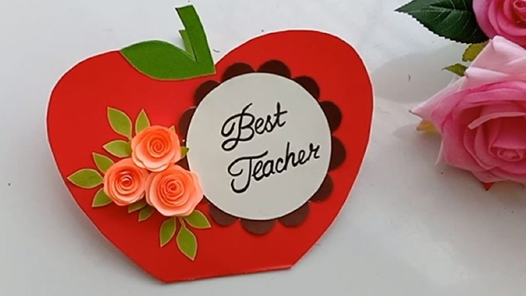 how to make card for favorite teacher greeting card for teachers