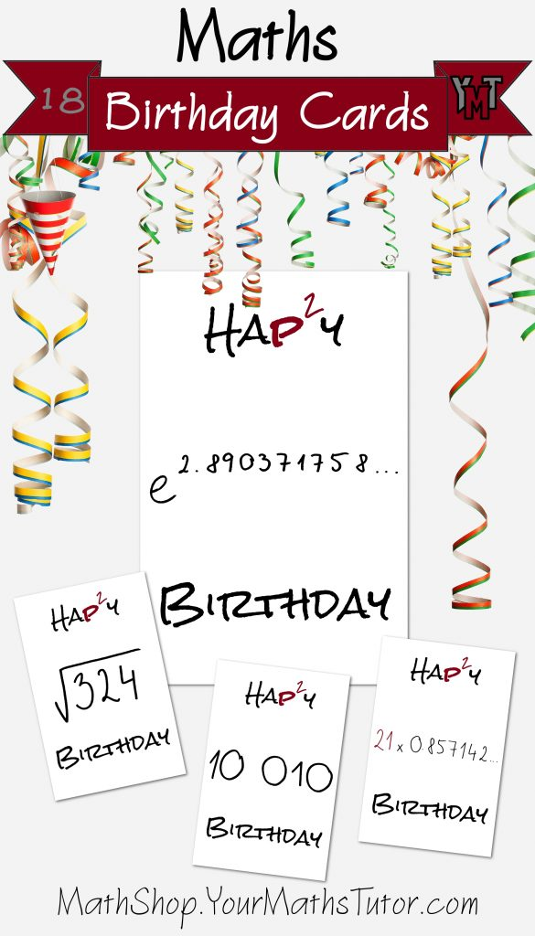 maths birthday cards printable maths birthday cards with
