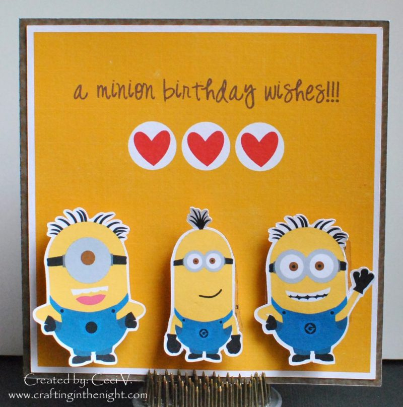 minions and despicable me cards minion movie happy birthday