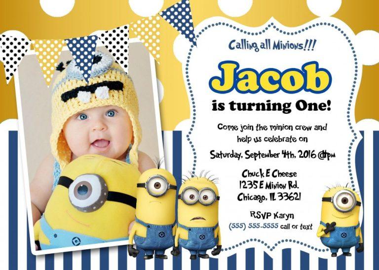 minions birthday card printable create own minion birthday