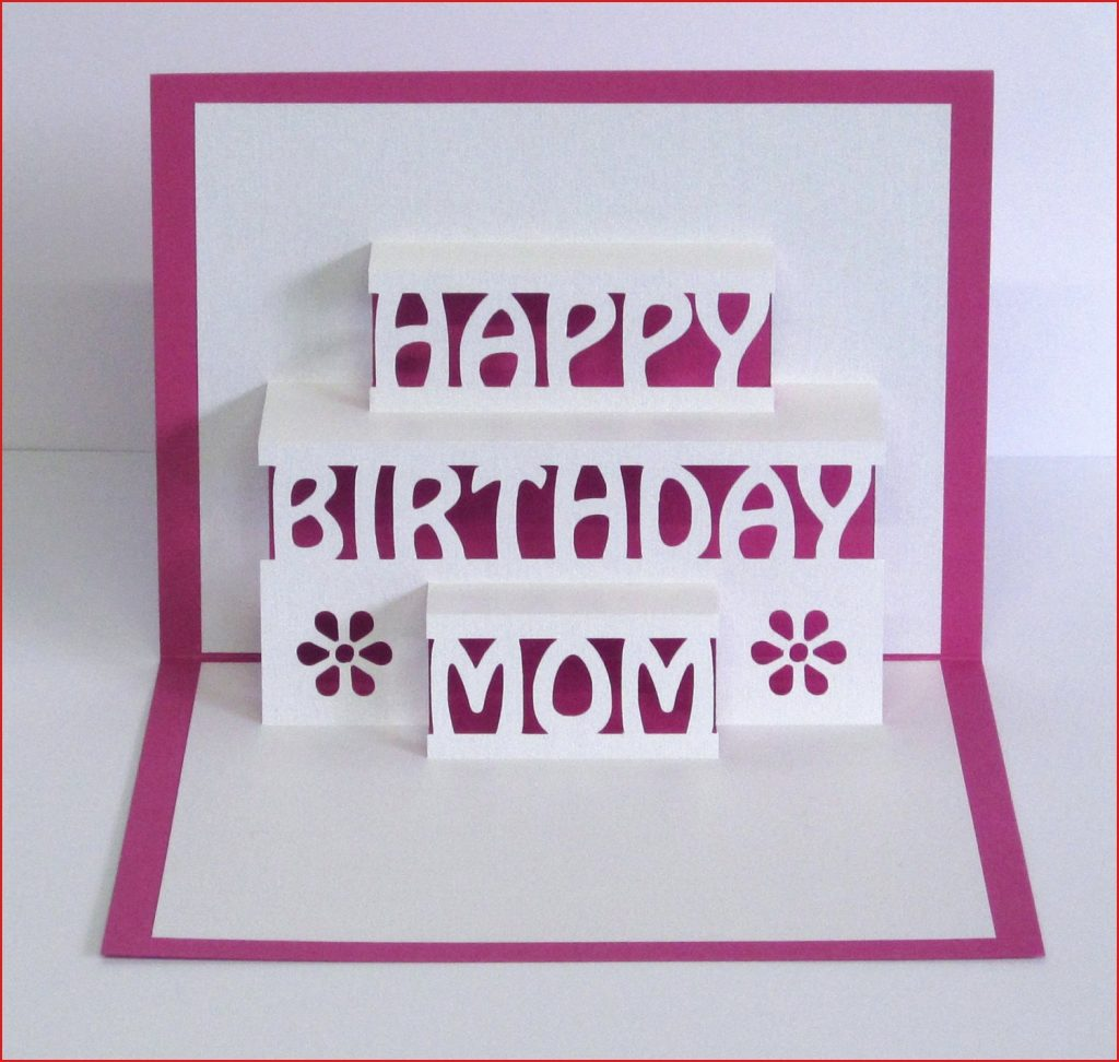 mom happy birthday cards mom birthday card 3d pop up happy