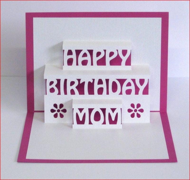 mom happy birthday cards mom birthday card 3d pop up happy