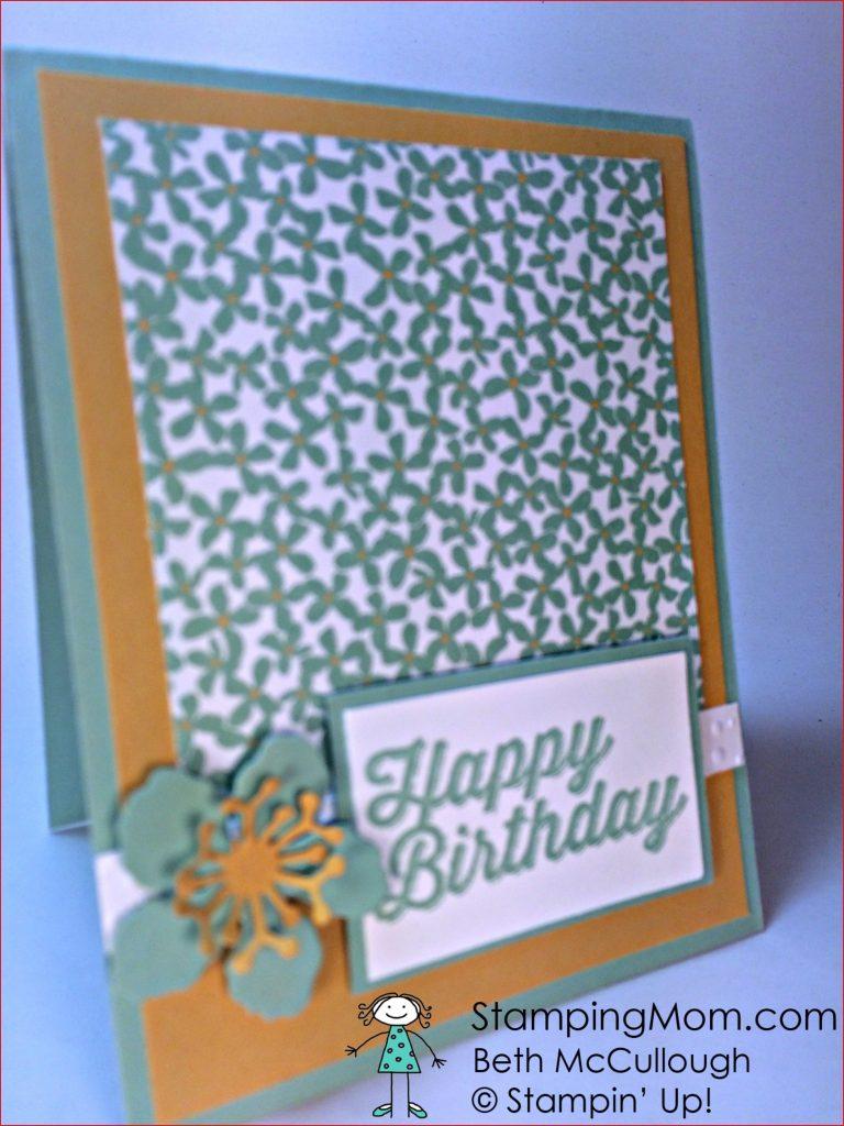 mom s 75th birthday stamping mom 75th birthday card ideas