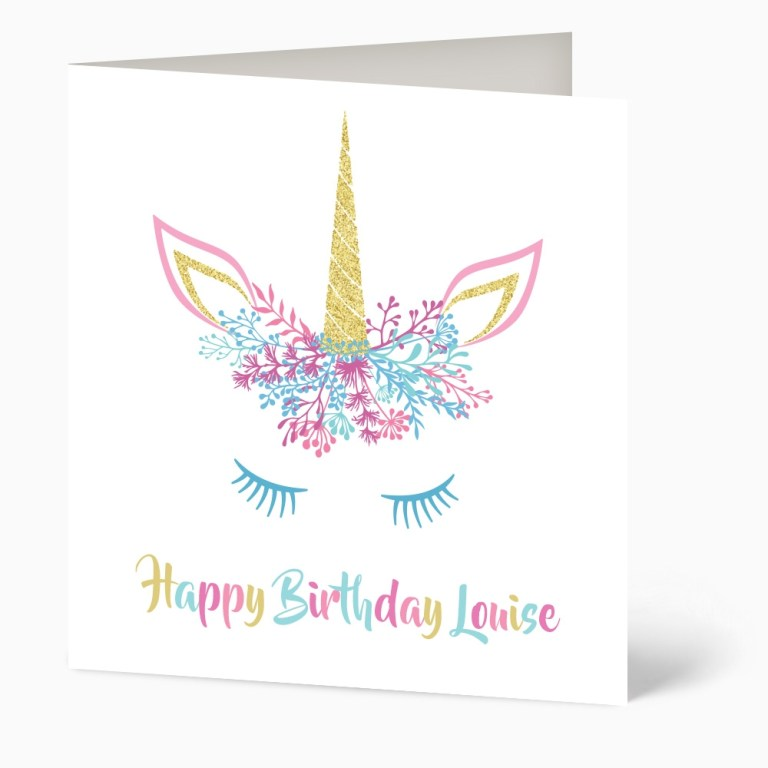 20beautiful unicorn birthday card  candacefaber