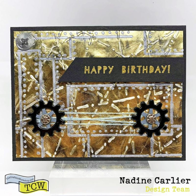the crafters workshop blogmasculine birthday card with