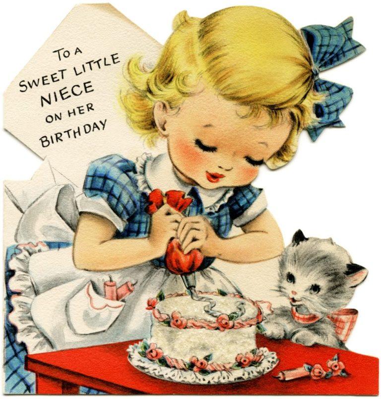 vintage birthday cards for girls old design shop blog