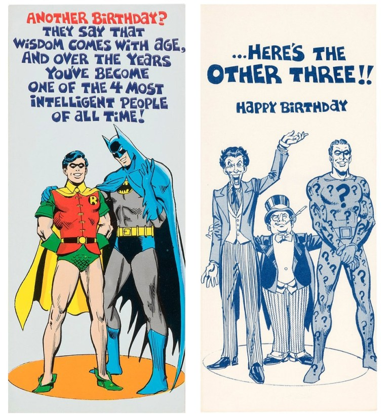 1978 batman birthday card tom simpson flickr