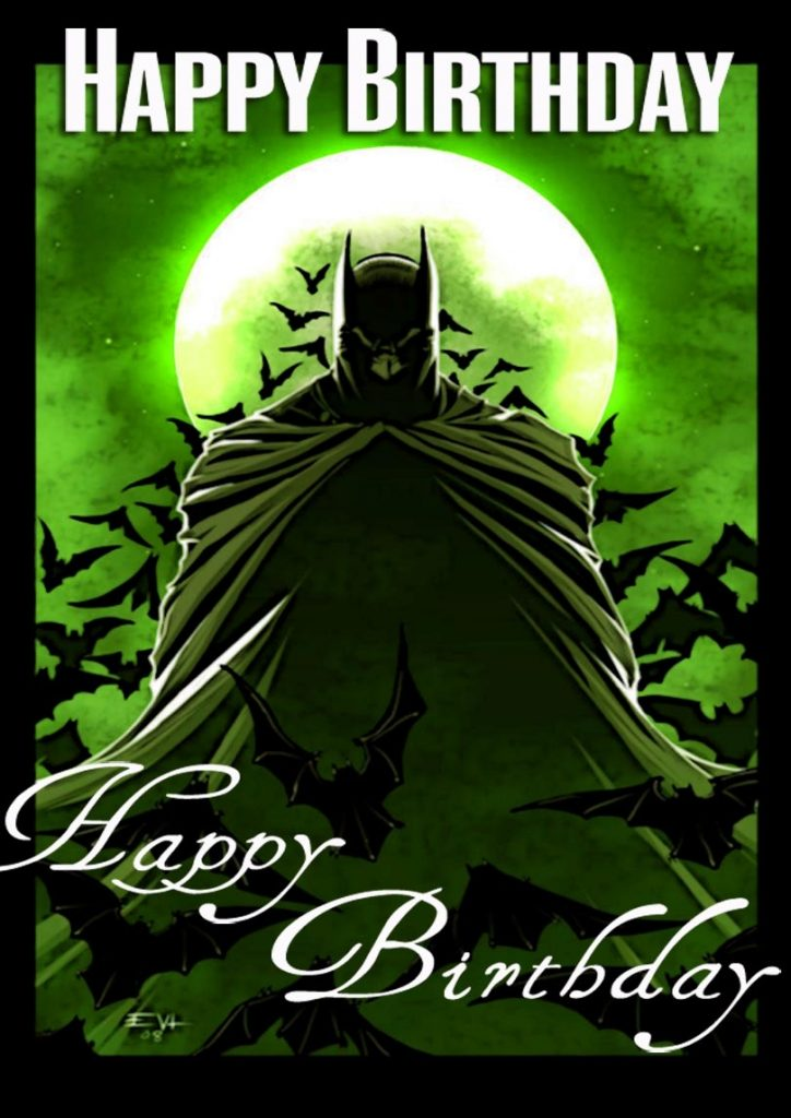 batman birthday card free printable birthday cards
