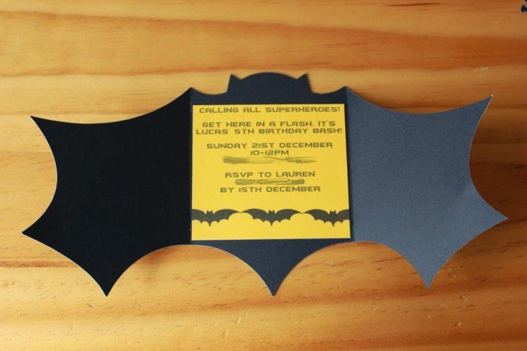 batman birthday invitations templates ideas batman