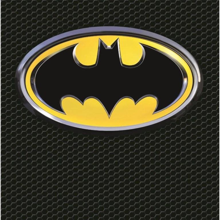 batman symbol birthday card