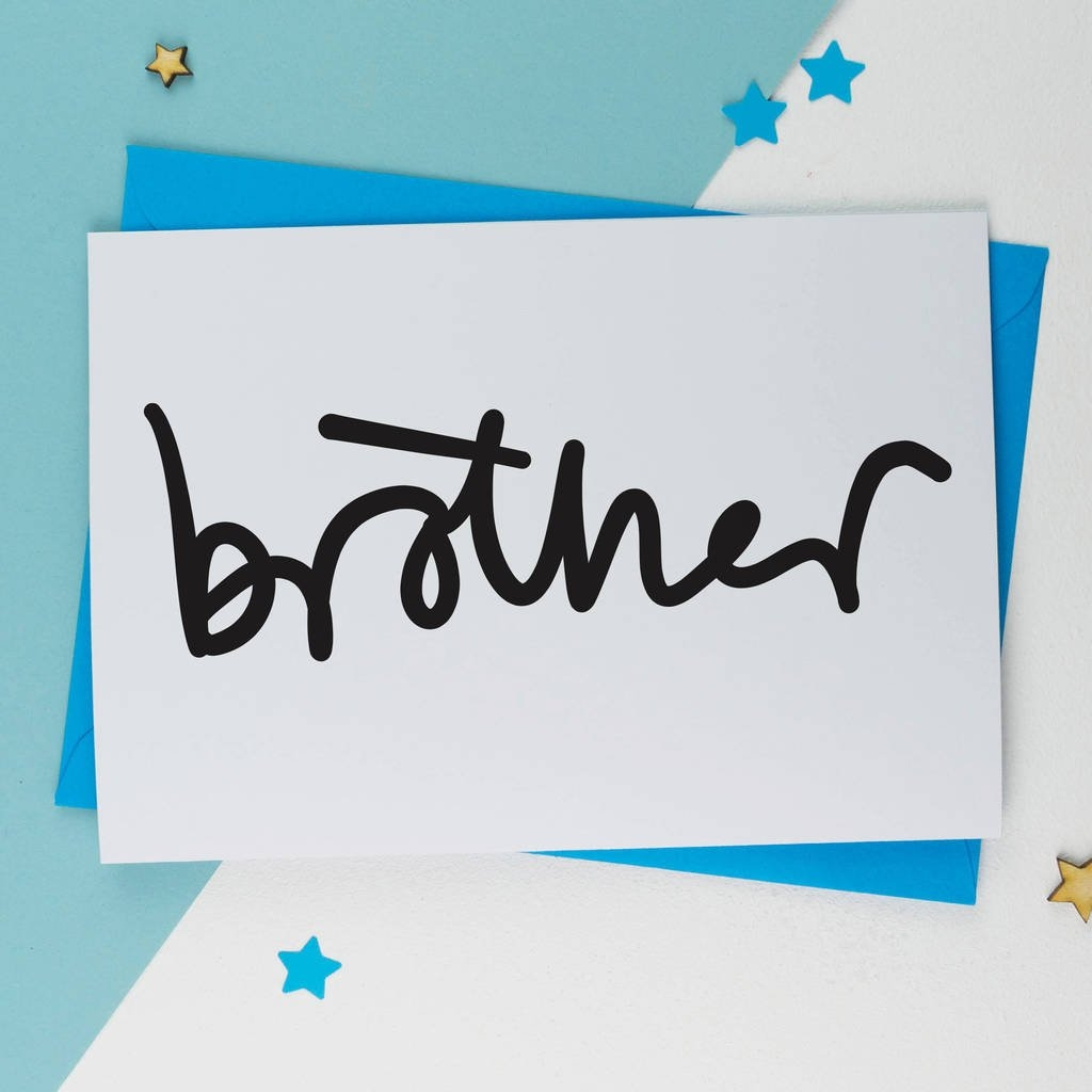 brother sketch birthday card birthday card a is for alphabet