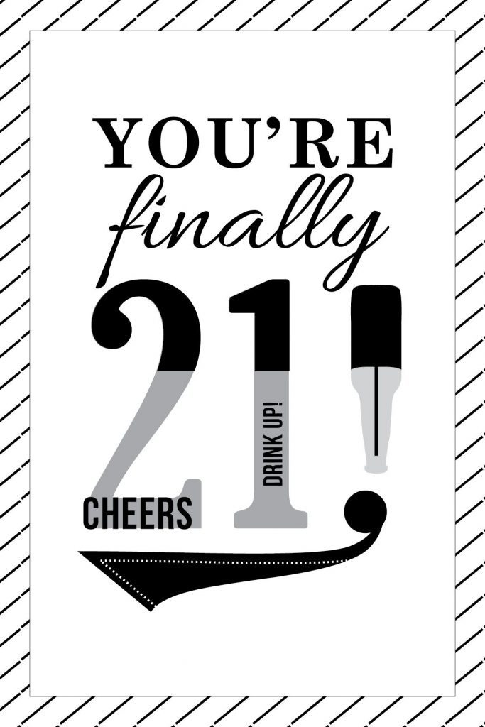 happy 21st birthday card 21st birthday quotes 21st