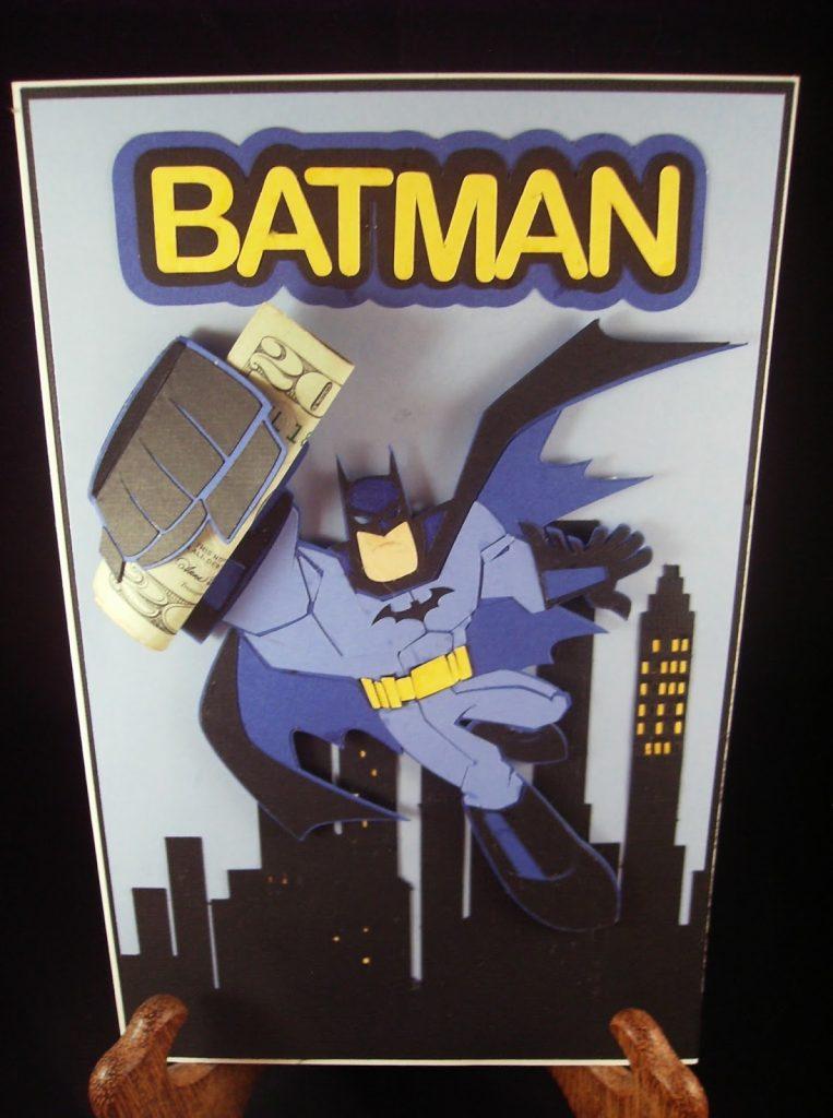 scrap n sew granny batman birthday card