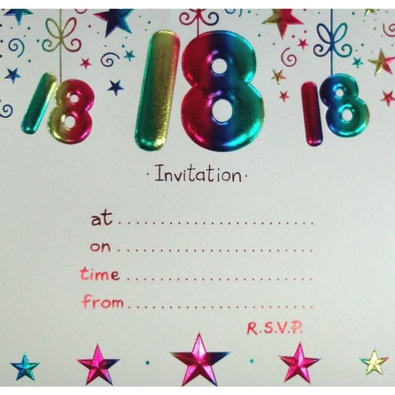 18th birthday invitation card maker happy birthday