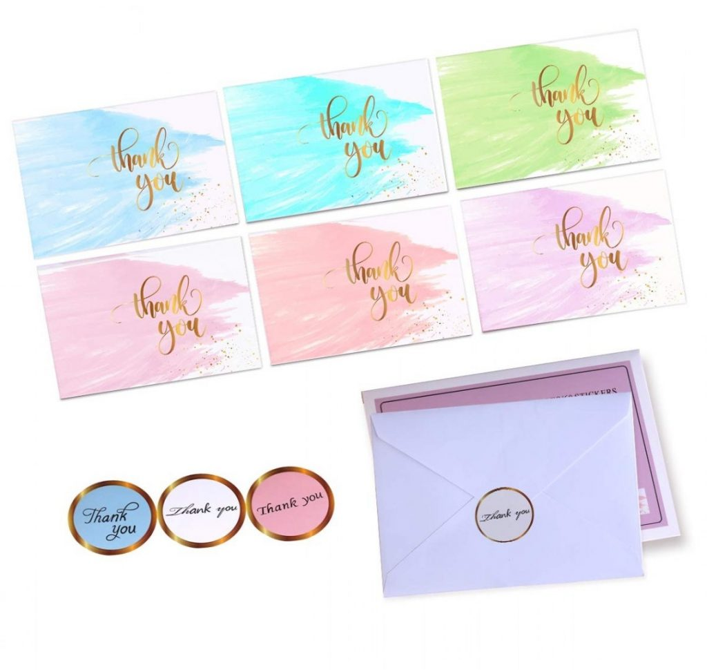 ba shower blank invitations thank you cards with envelopes