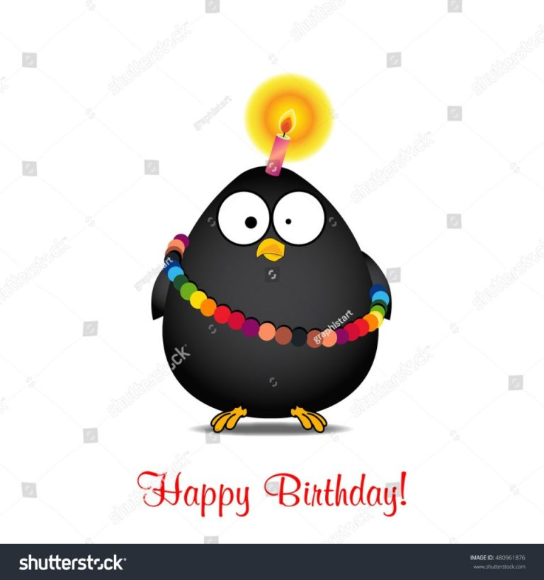 birthday cardbirthday cakevector funny happy birthday stock