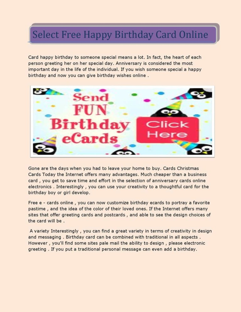 calamo select free happy birthday card online