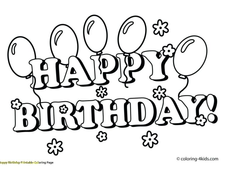 coloring pages coloring marvelous happy birthday card mom
