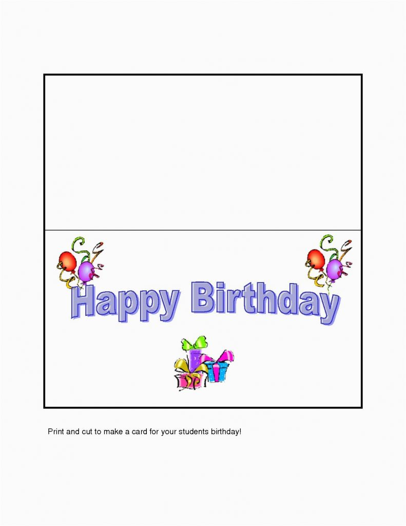 design your own birthday card to print baservtngcf