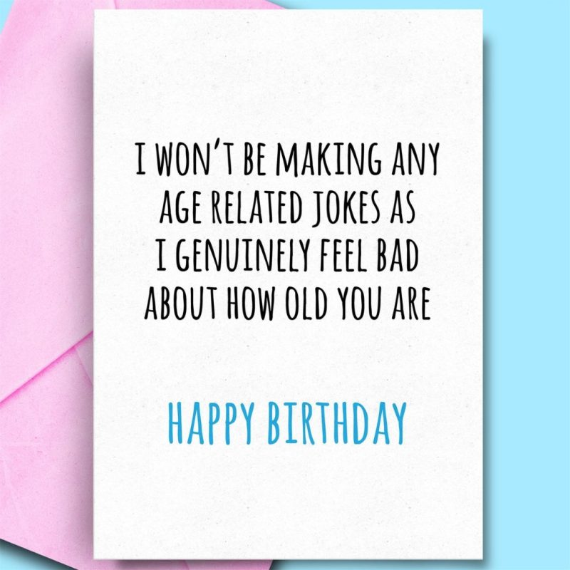 details about funny happy birthday cards for son husband aunt friend comedy adult rude fun