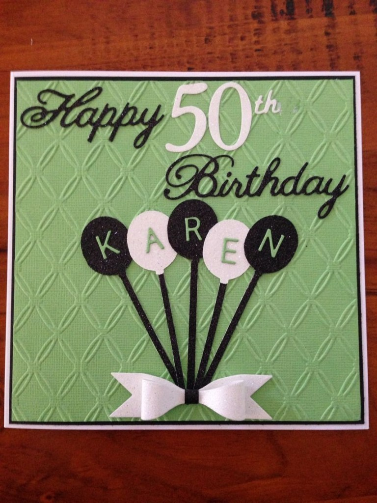 female 50th birthday card birthday cards for men 50th