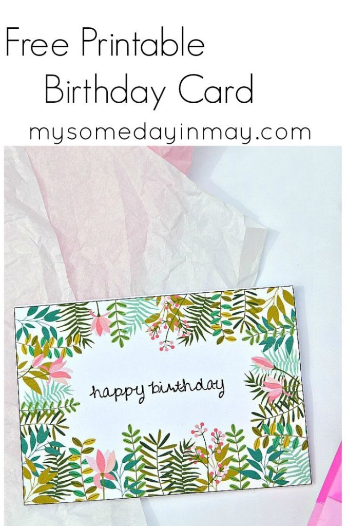 free birthday card free printable birthday cards birthday