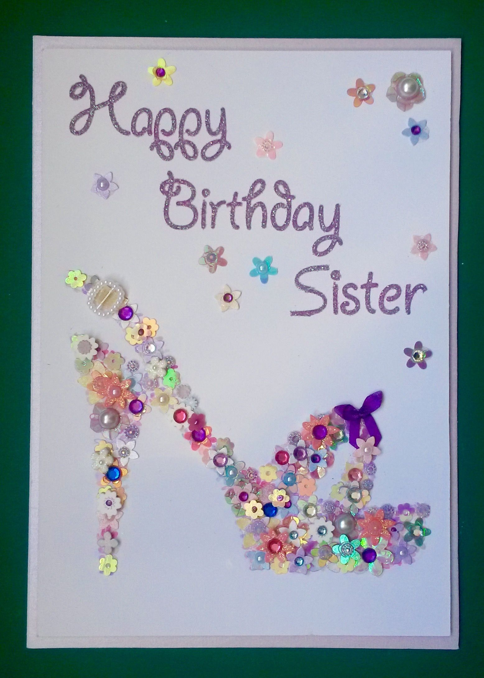 happy birthday sister cards collection as the template