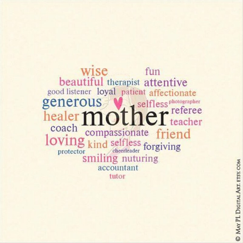 my mothers day whimsical word art you can use to make you