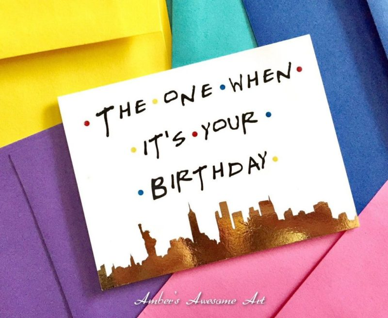 the one when its your birthday friends tv show birthday