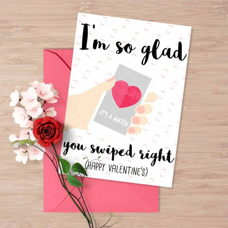 tinder valentines day card funny valentines cards