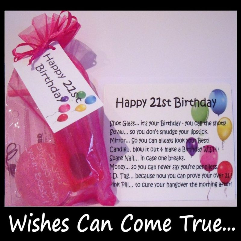 21st birthday gifts 21st birthday survival kit gift card