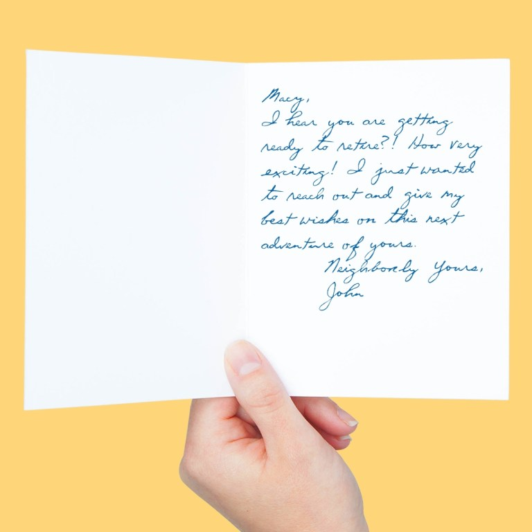 55 ways to sign off a greeting card