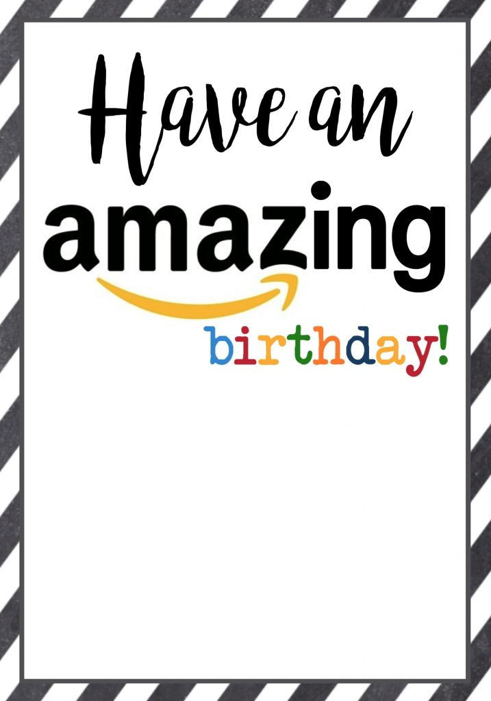 amazon birthday cards free printable paper trail design