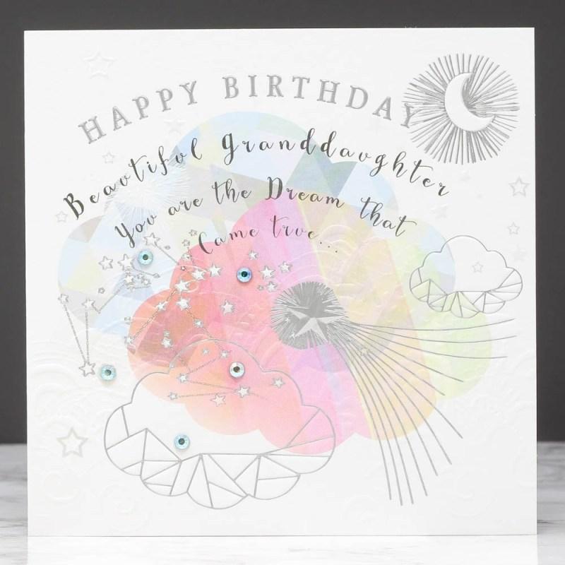beautiful granddaughter birthday card sarah curedale