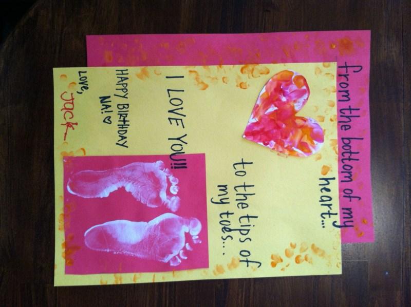 birthday card for grandma grandma birthday card homemade