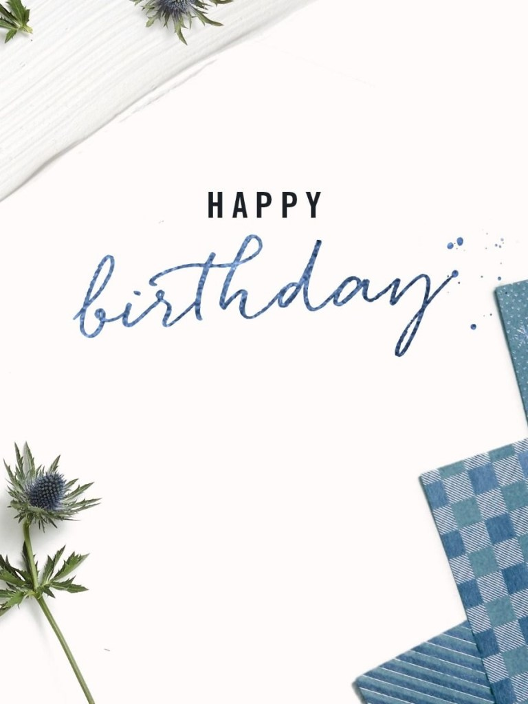 birthday gift cards thought clothing