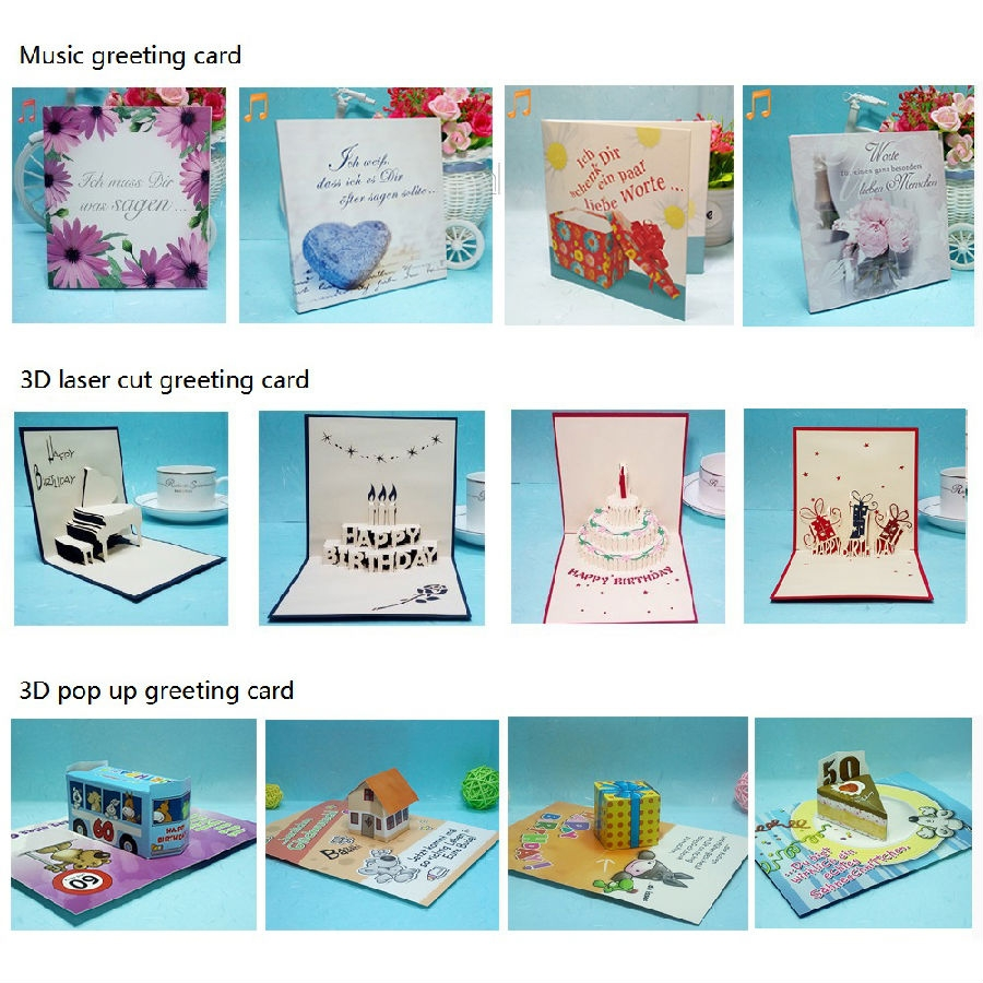 china free animated birthday greeting cards manufacturers