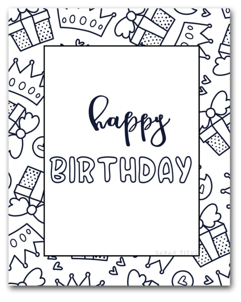 coloring book coloring book birthday card pages anime
